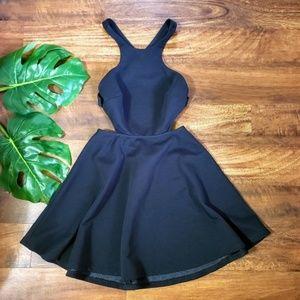 Nasty Gal Textured Backless Dress